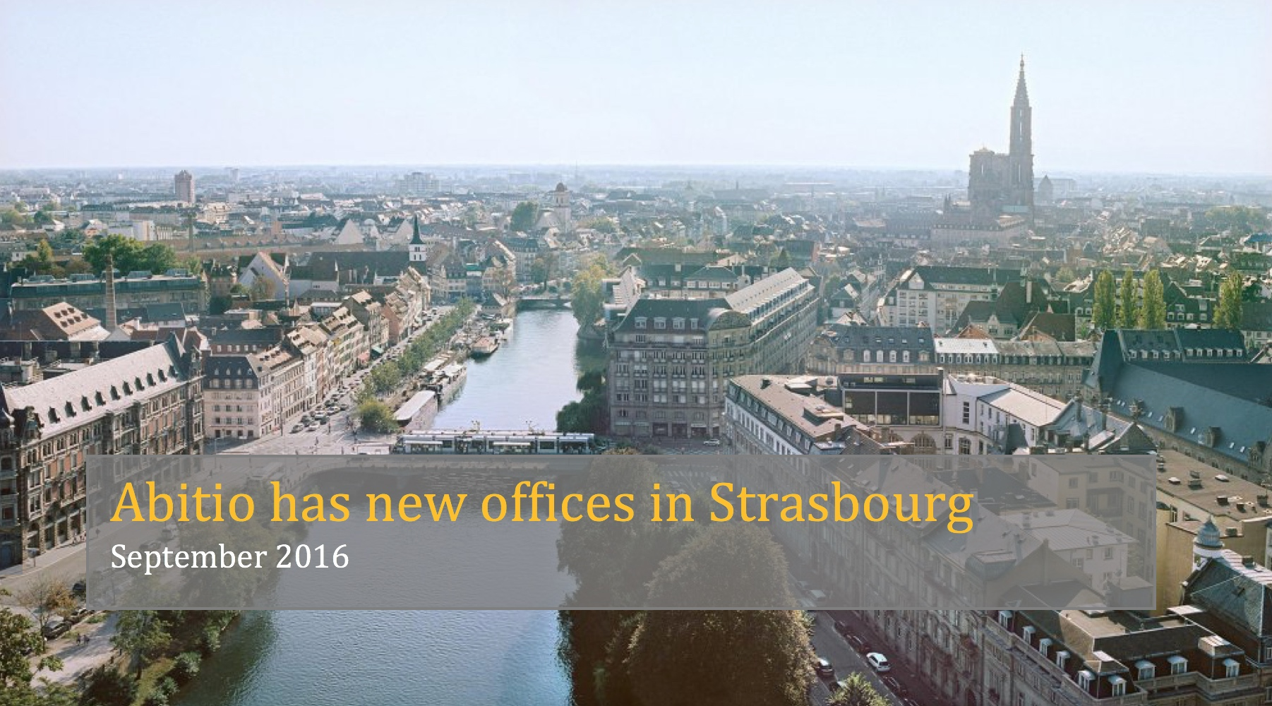 New offices in Strasbourg